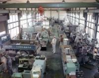 創業当時の金型製作工場の様子